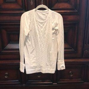 Beautiful Lululemon White Shirt